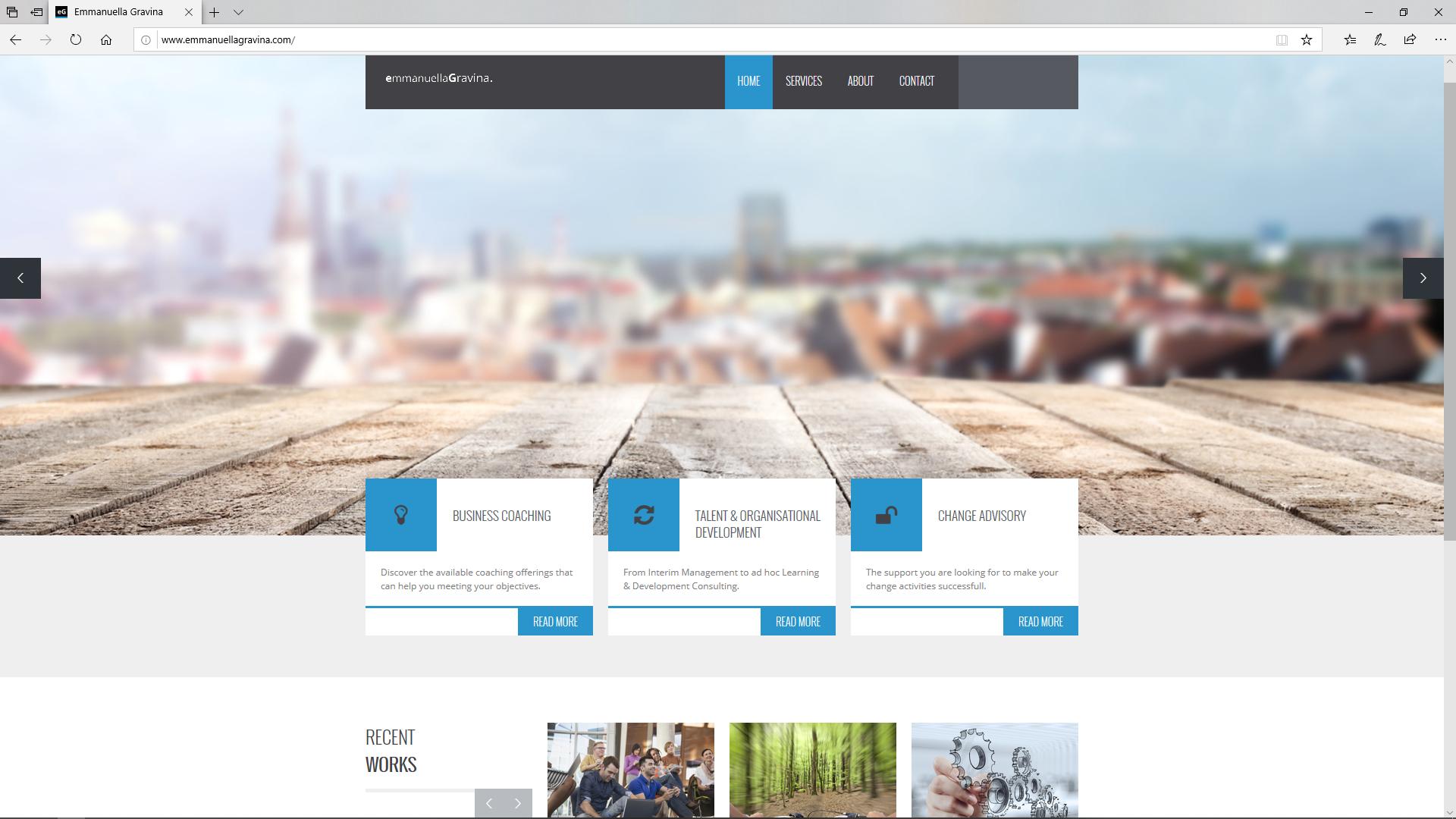 site web pour indépendants